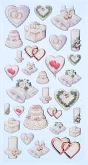 3451132 Sticker Hochzeit II