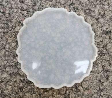 526086 Silikonform Geode 6 /13x13cm