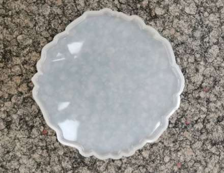 526088 Silikonform Geode 8/ 13x13cm