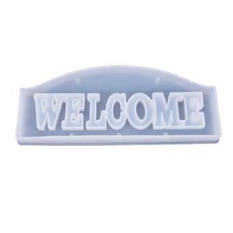 526095 Silikonform Welcome 26.5x11x3cm