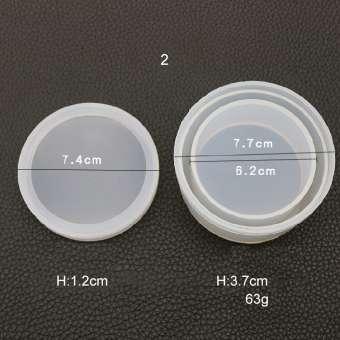526142 Silikonform Box rund D7/H4cm