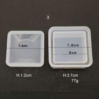 526143 Silikonform Box viereck 7cm /H4cm