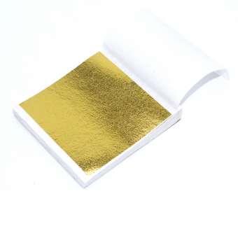 563307 Design Metall Gold 9x9cm / 50Blatt