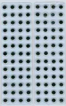 575001 Wackelaugen selbstkl.8mm 104St SB