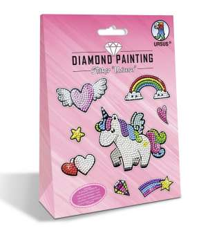 597037 Diamond Painting Sticker Einhorn