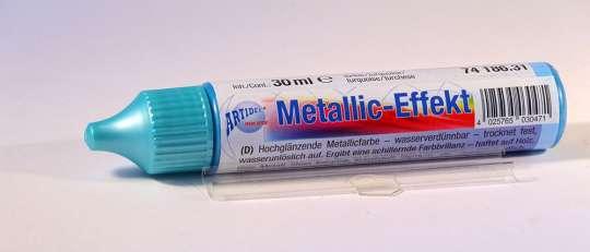74186.31 Metallic-Effekt Pen 30ml türkis
