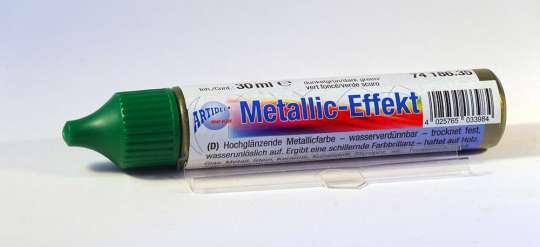 74186.35 Metallic-Effekt Pen 30ml dunkelgrün